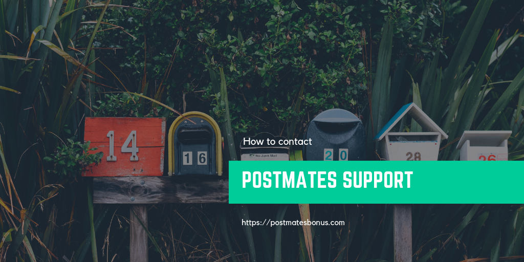 Postmates Customer Service | How to contact Postmates Support